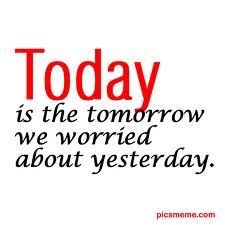 faith, worry