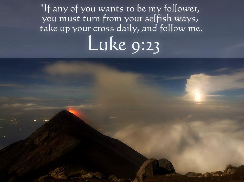 Luke 9 23